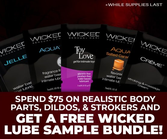 Free Wicked Lube Bundle Promo Image