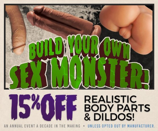 Build Your Own Sex Monster Sale Image!