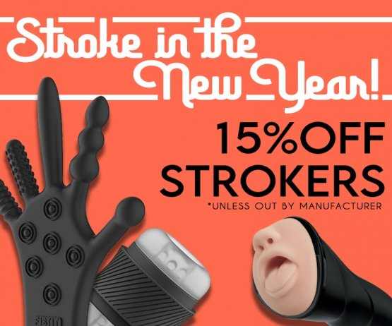 15% Off Strokers! Image