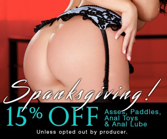 Spanksgiving Toy Sale