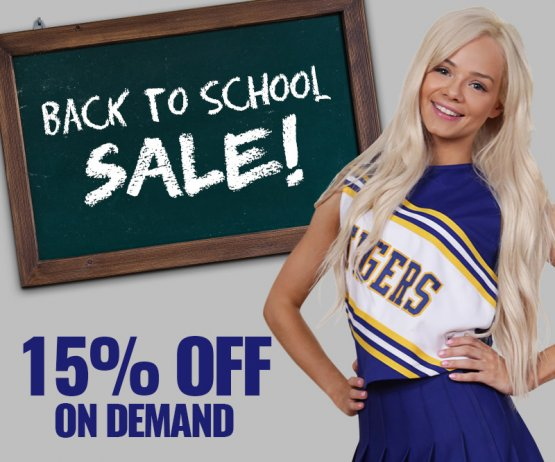 Back To School VOD Sale!