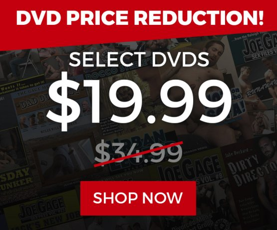 DVD Price Reduction Sale Banner Image