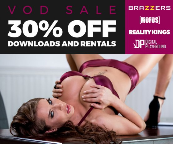 Save 30% on VODs from Brazzers, Digital Playground and More!