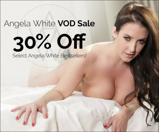 Save 30% On Angela White Best Selling VODs!