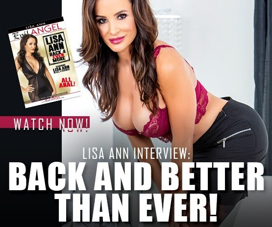 The legend Lisa Ann is back in Back 4 Even More!