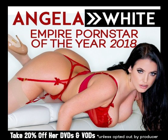 Adult Empires Performer of the Year: Angela White, Save 20% on her movies today!
