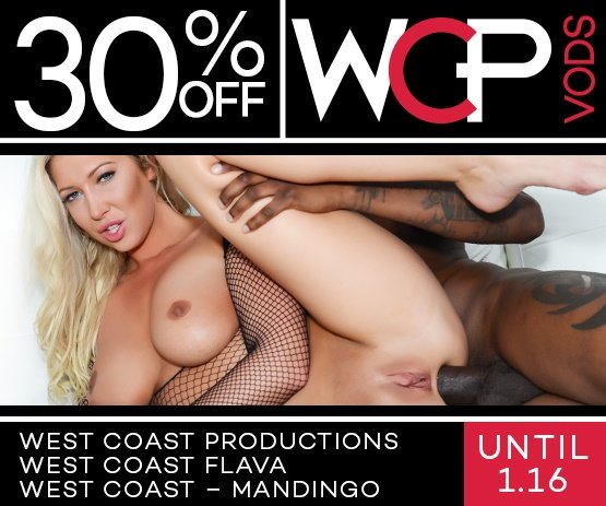 Save 30% on West Coast Productions and more porn downloads & Rentals starring Violet Starr and more!