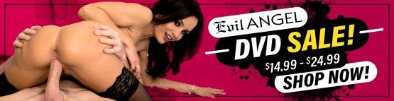 Evil Angel DVD Sale Banner