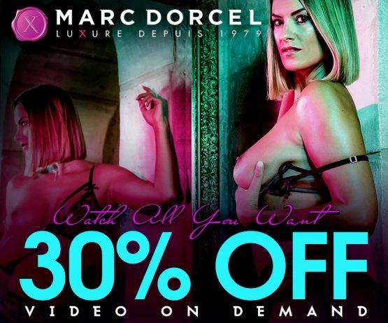 Shop & Save 30% on all Marc Dorcel VODs today.