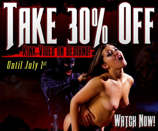 Shop & Save 30% on all Kink VODs today.