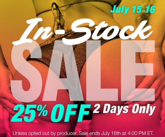 Shop our in-stock sale and save 25% site wide!