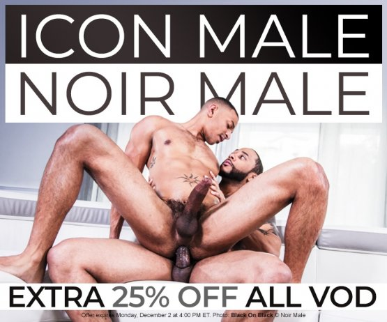 25% off Icon Male & Noir Male VODs Sale image