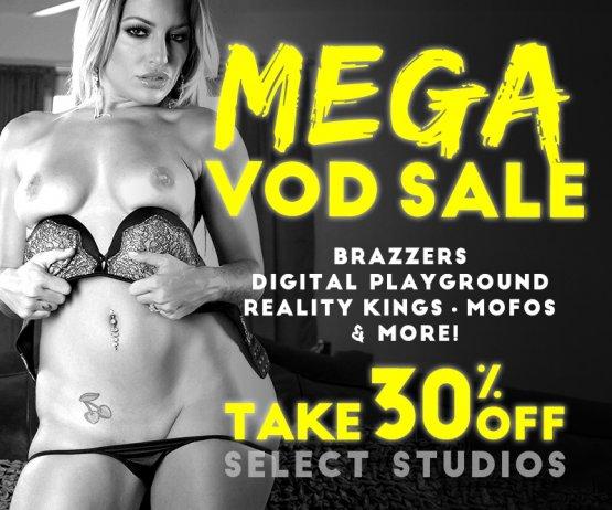 Mega VOD Sale Banner Image