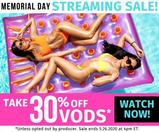 Memorial Day Weekend On Demand Sale!