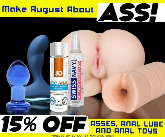 August Anal Toys Sale Image
