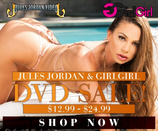 Jules Jordan & GirlGirl DVD Sale banner image
