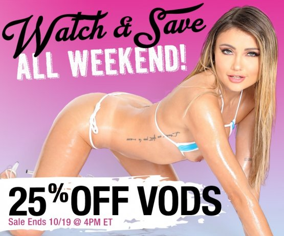 Watch And Save VOD Weekend Sale