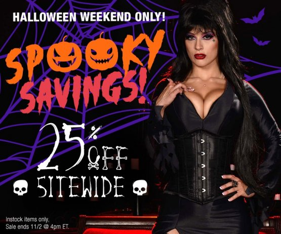 Halloween Sitewide Sale Image