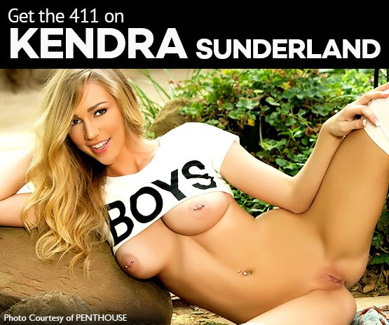 We've got the 411 on Kendra Sunderland - Check out this exclusive video and questionnaire!
