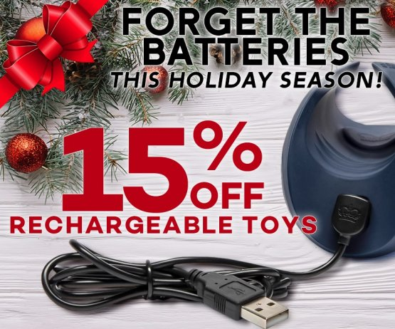 Rechargeable Sex Toy Sale Image