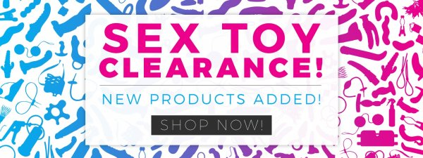 Buy clearance sex toys.