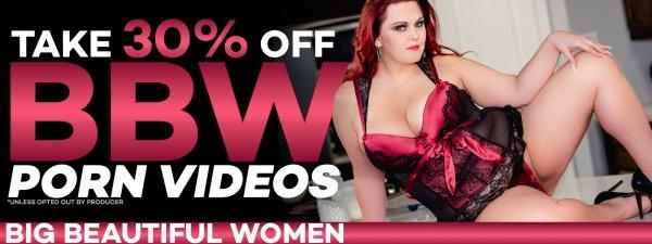 Watch BBW porn videos on sale.