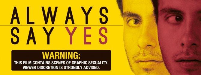Buy Always Say Yes gay cinema from TLA Releasing.