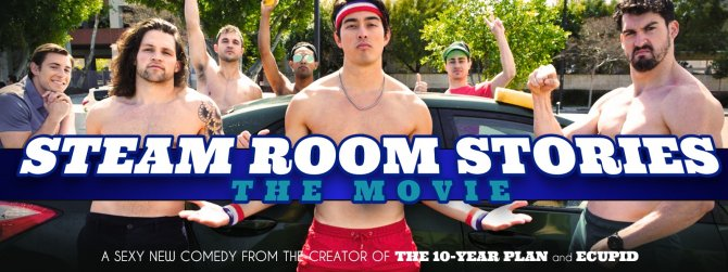 Buy Steam Room Stories gay cinema DVD.