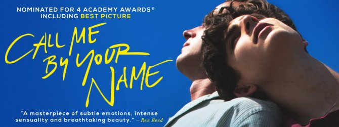 Watch Call Me by Your Name gay cinema DVD from Sony Pictures.