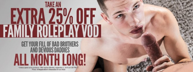 Raging Stallion Gay Porn VOD on sale now!