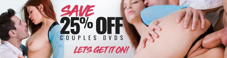 Save 25% on porn movies for couples now.