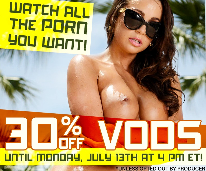 Buy porn videos at 30% off.