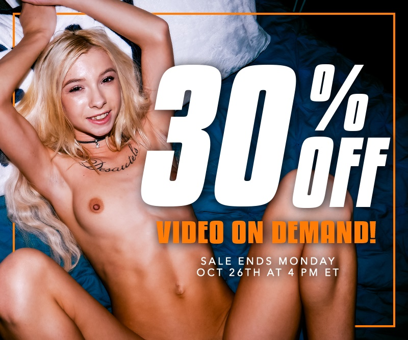 Take 30% off VODs.