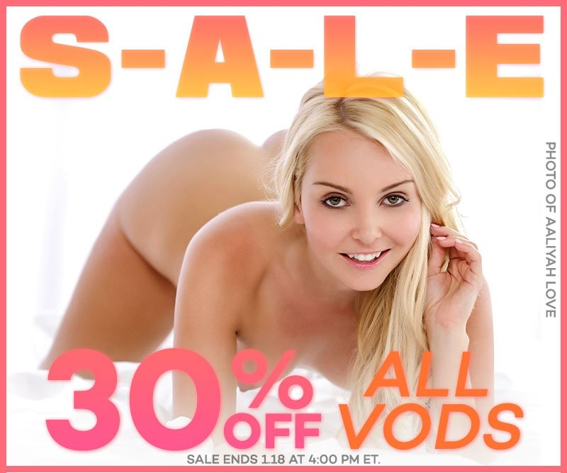 Take 30% off all porn videos.