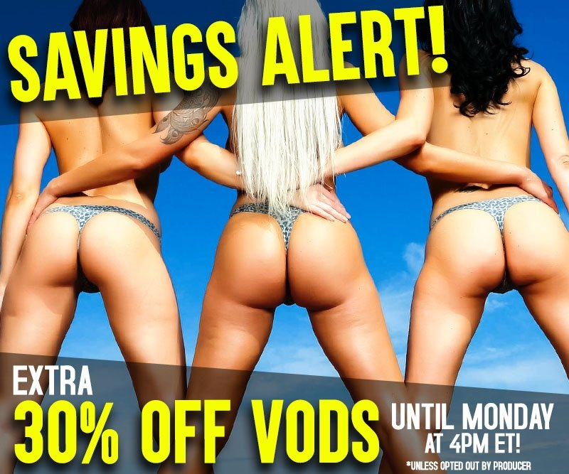 Take 30% off porn videos.