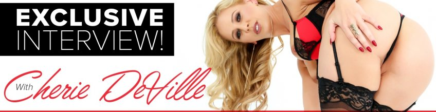 Porn star Cherie DeVille sat down with Adult Empire for an exclusive interview.