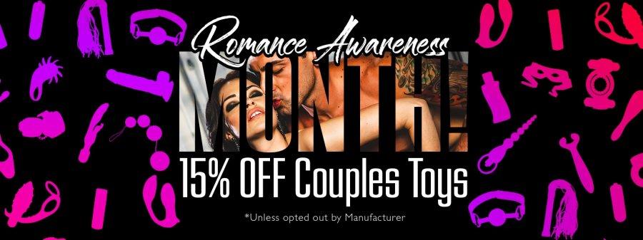 Shop the romance awareness sale.