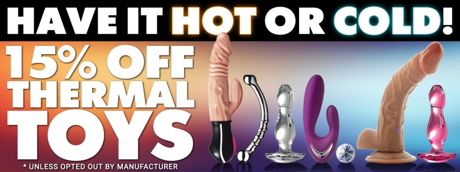 Buy thermal sex toys.