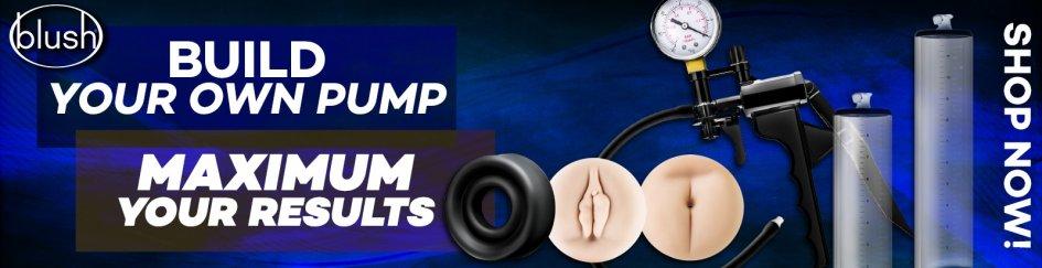 Shope Build Your Own Pump sex toys.