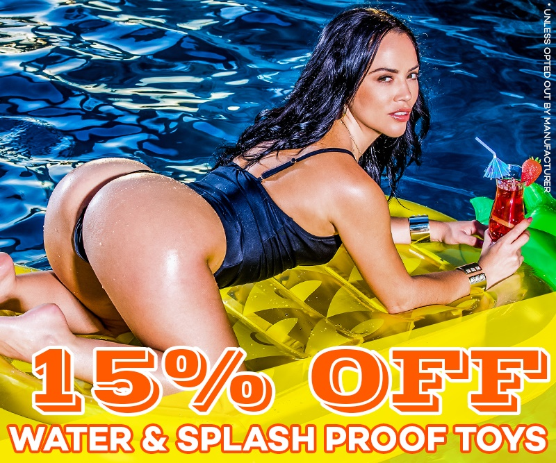 Save 15% Water & Splash Proof Toys All Month Long Image