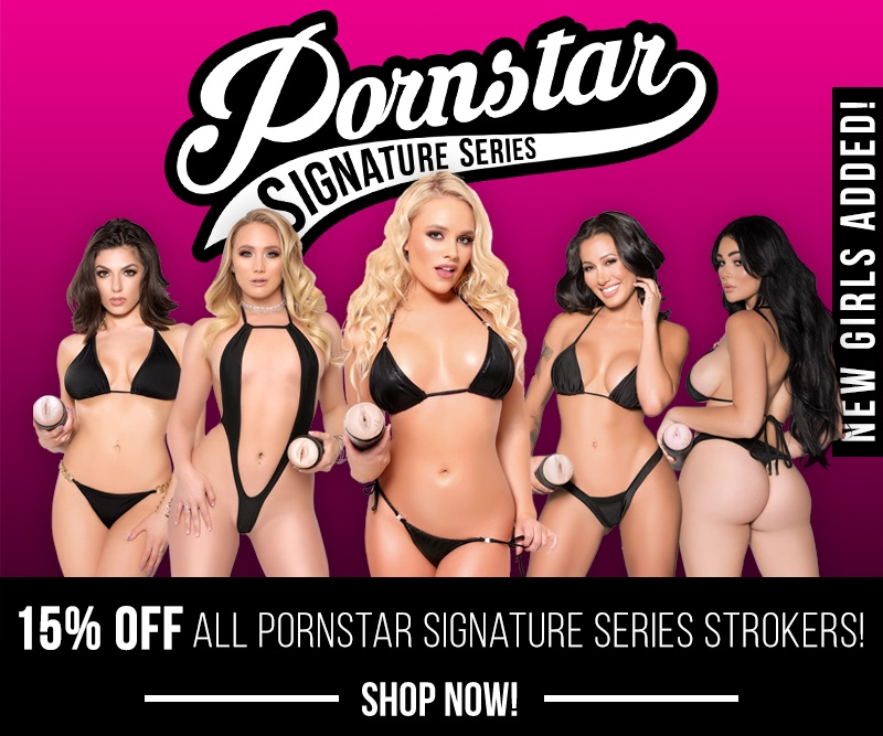 Save 15% On Pornstar Signature Strokers All Month Long Image