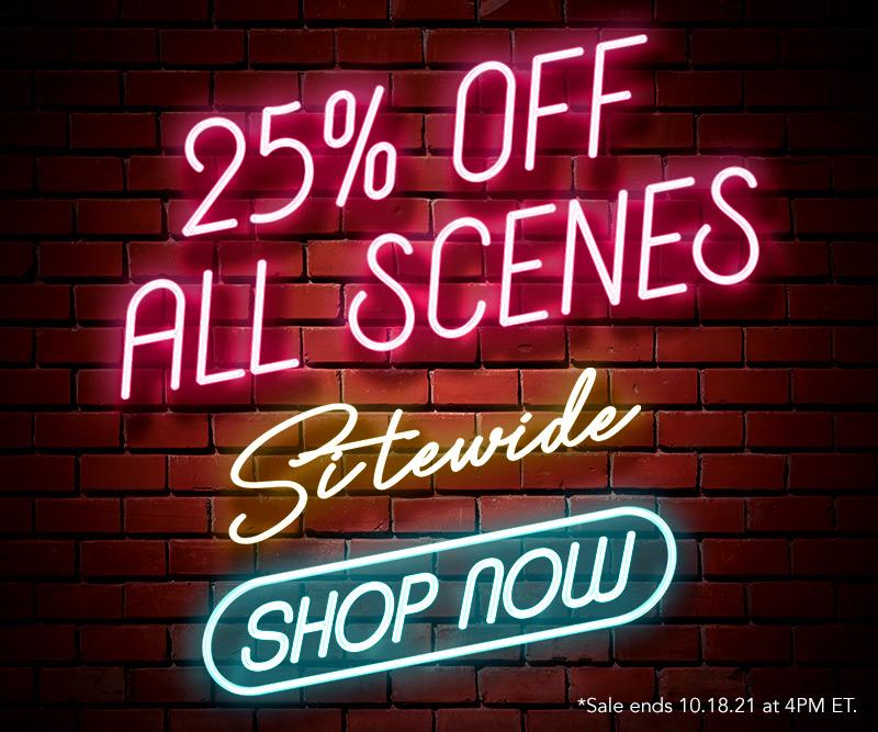 Weekend Scene Sale!