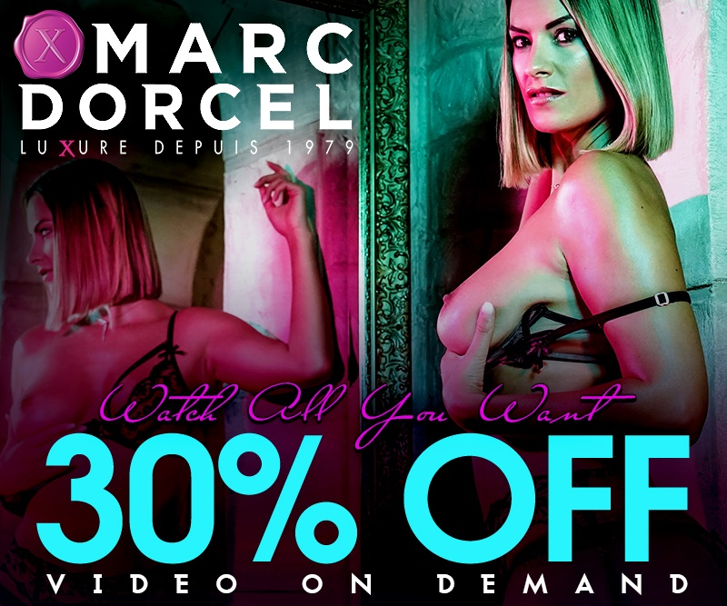 Save 30% on VODs from Marc Dorcel!