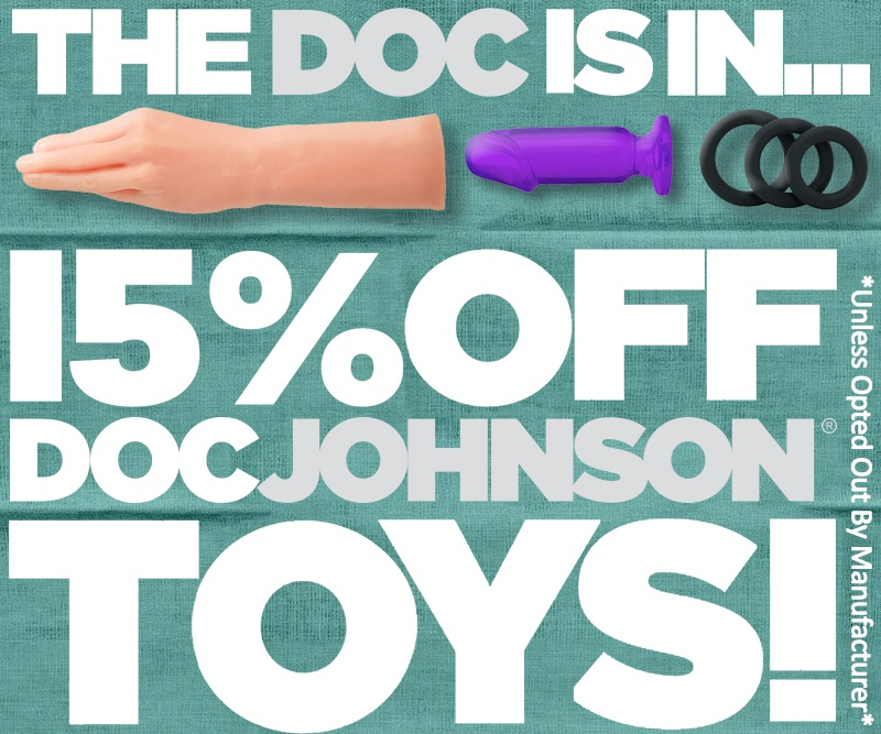Doc Johnson Sex Toy Sale!