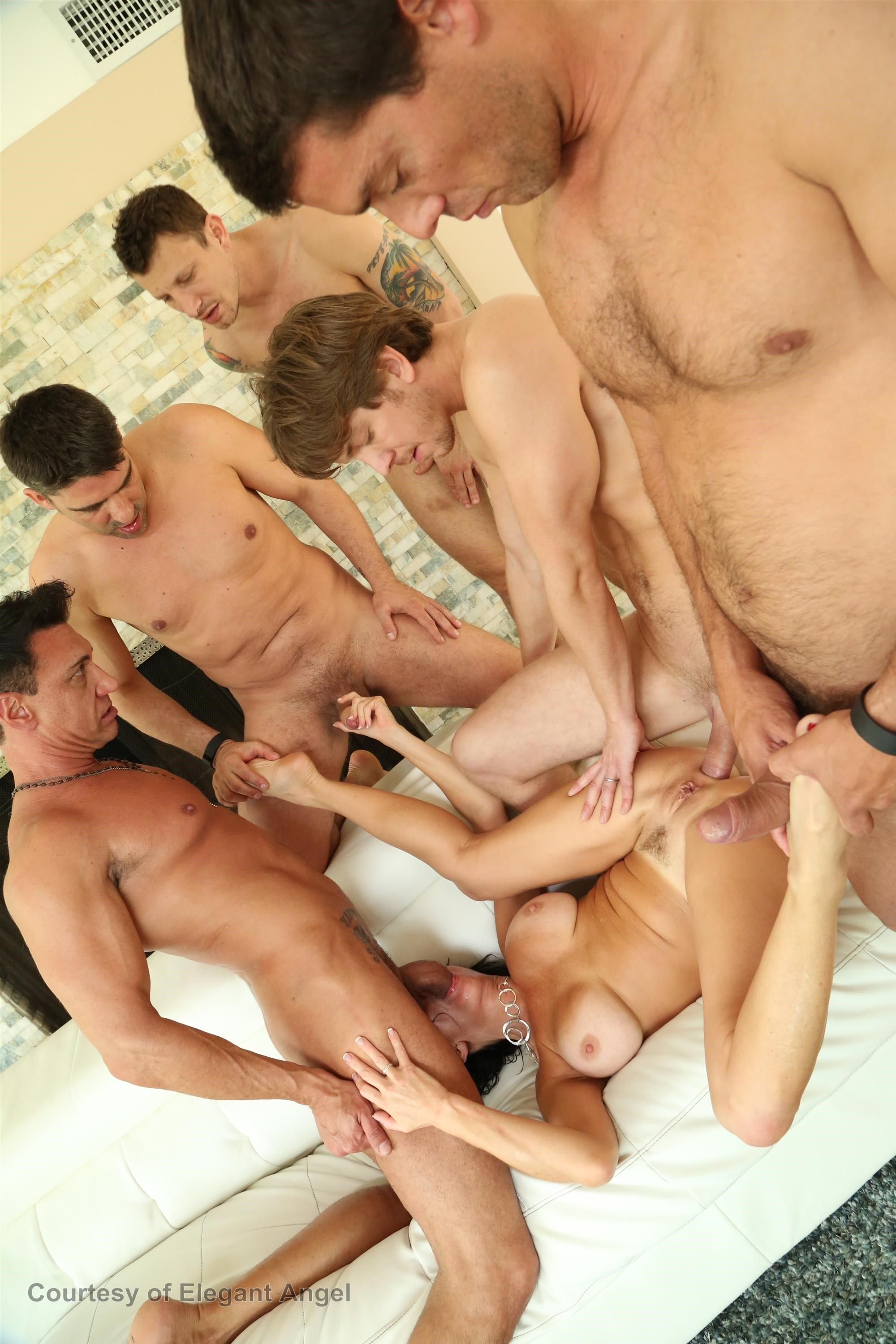 Special forces gangbang