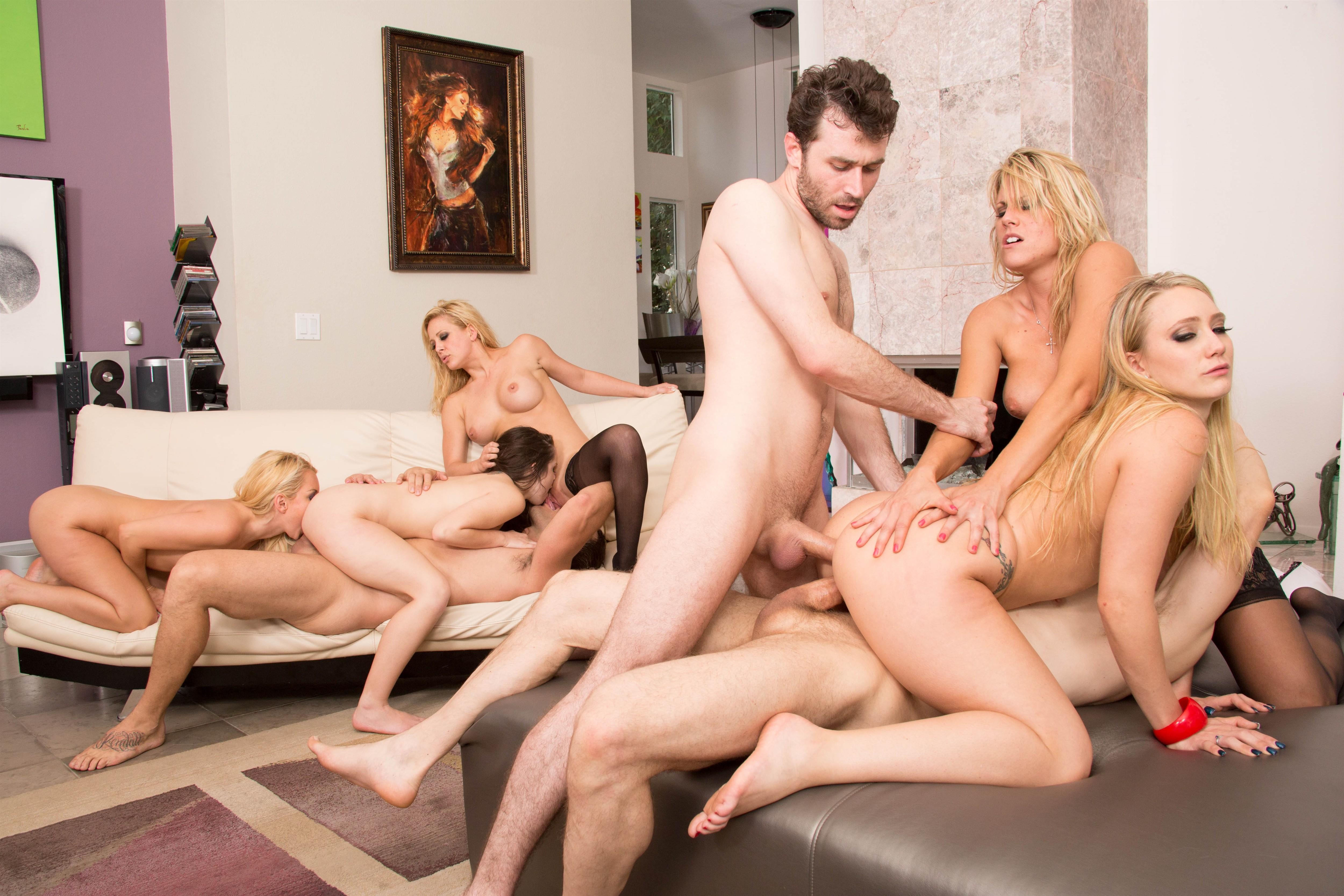 Sex Bei Analer Orgie 5