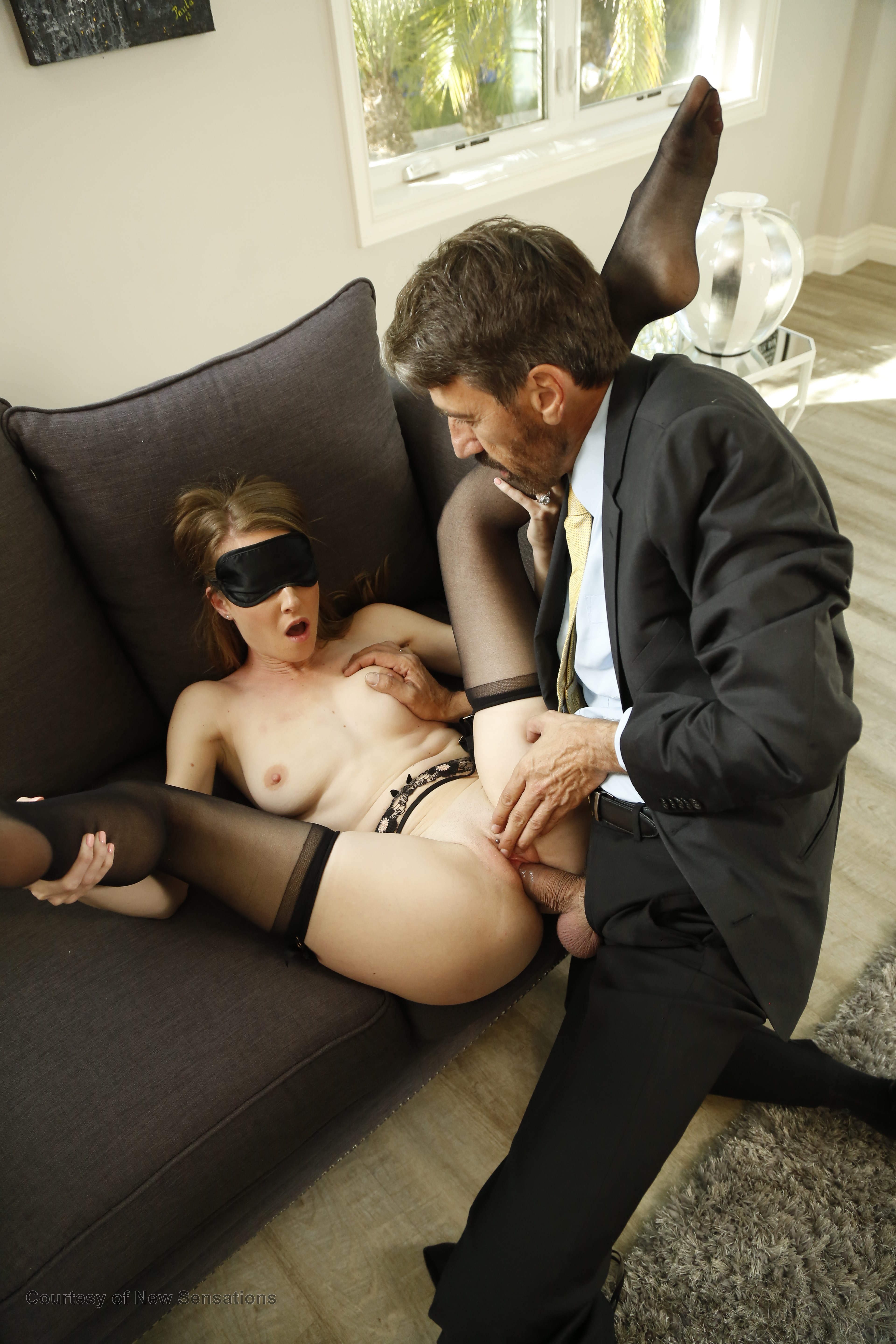 Blind folded and fucked