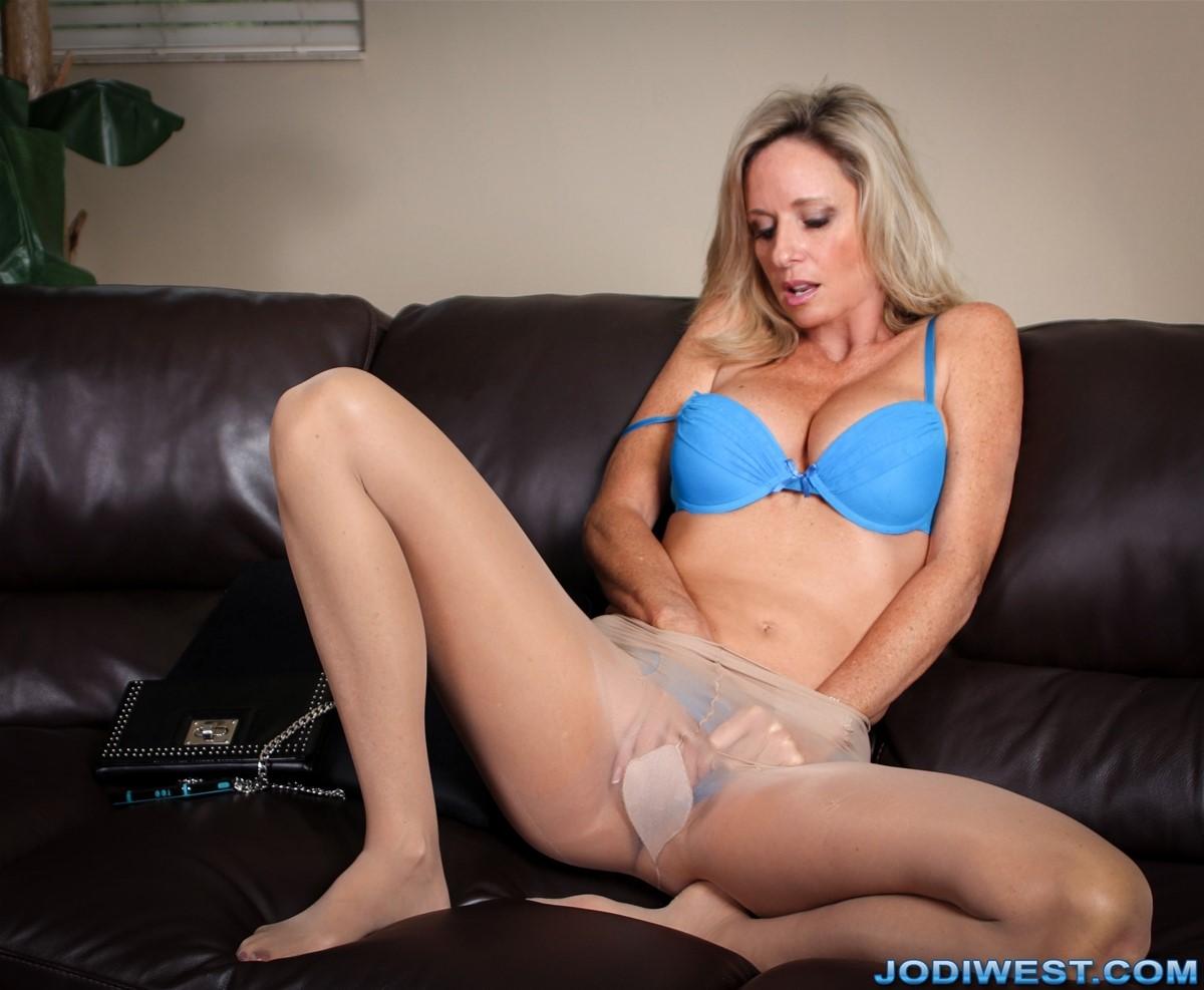 Jodi west pantyhose