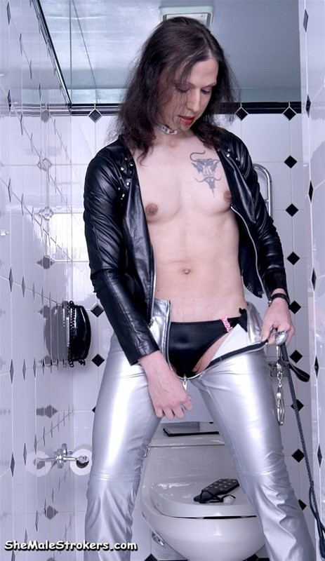from Brady shemale strokers ts leather thorns