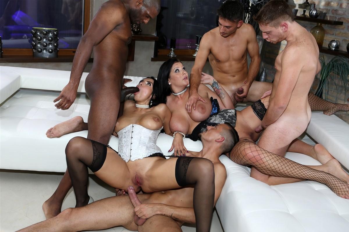 Roccosiffredi horny squirty orgy